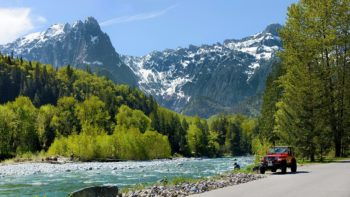 The Skykomish River in Index, WA.   Photo: Garvin Carrell