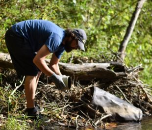 Tuckasegee River Cleanup | Taylor Carringer