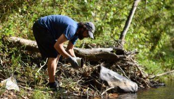 Tuckasegee River Cleanup | Taylor Carringer