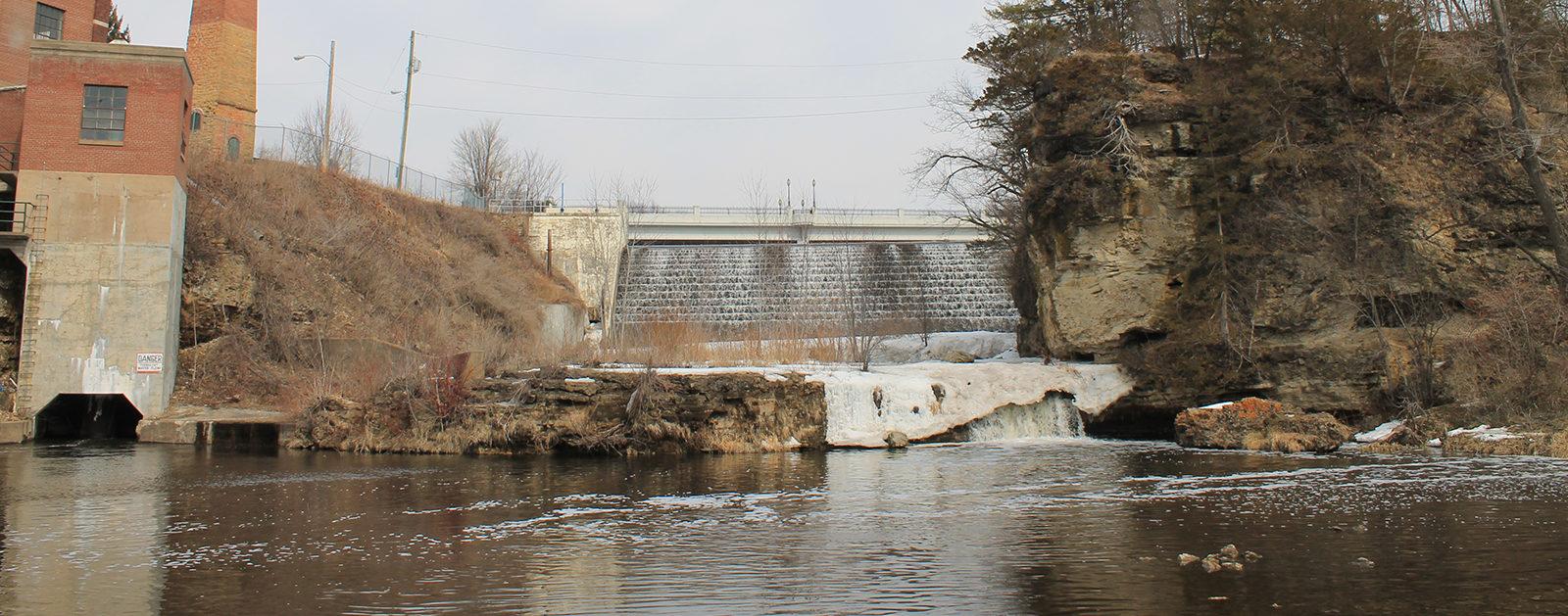 Kinnickinnic River dams. | Photo: Michael Page