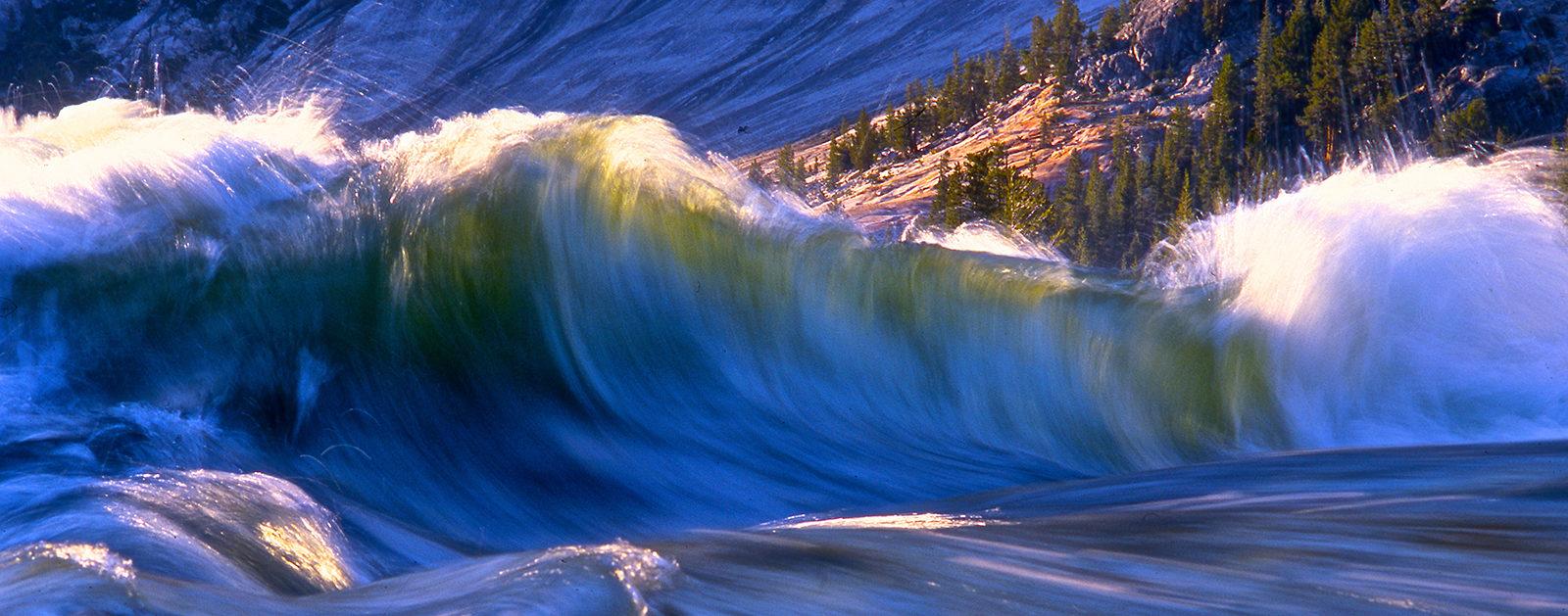 Brink of Glen Aulin Falls, Tuolumne River, CA. | Photo: Tim Palmer