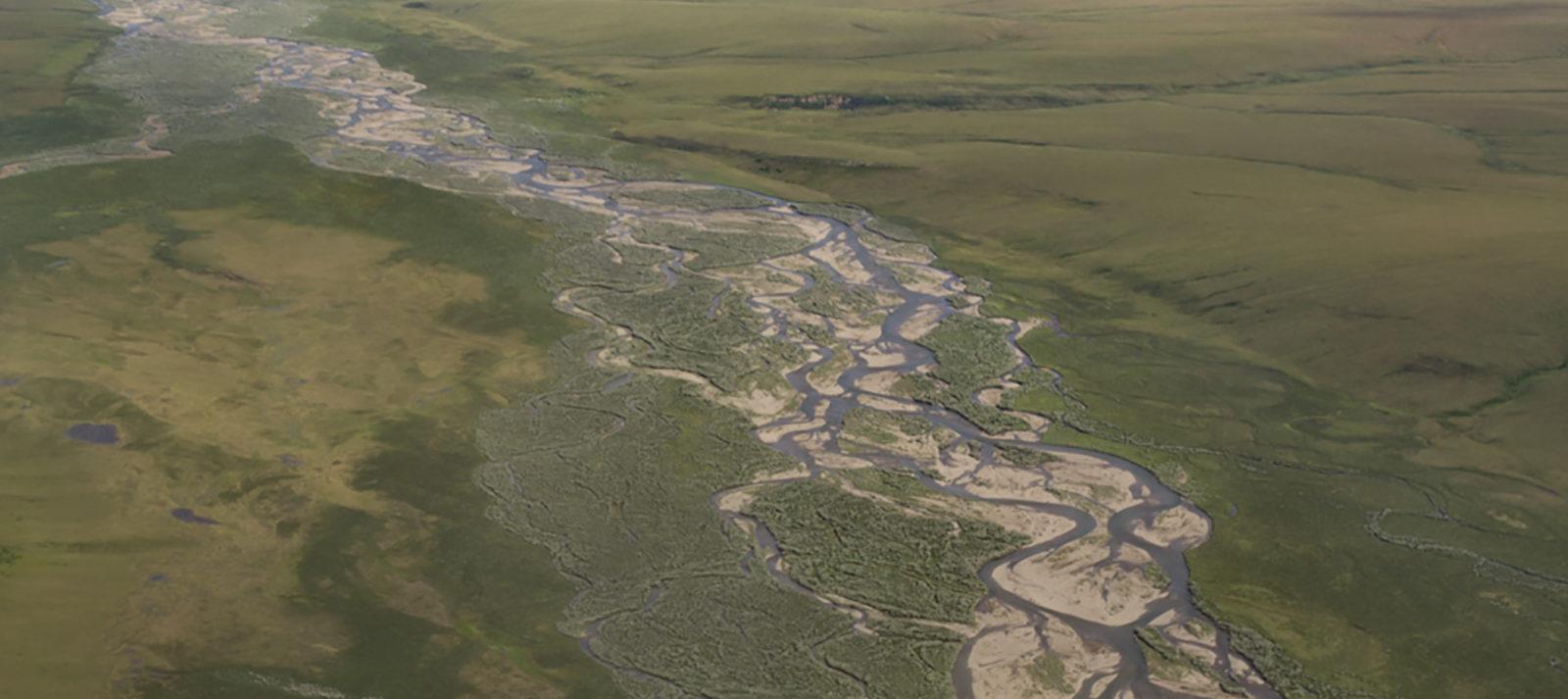 Colville River, Alaska | PHoto: Jason Leppi, The Wilderness Society