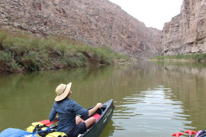 Amy Kober on the Wild and Scenic Rio Grande. | Ben Masters.