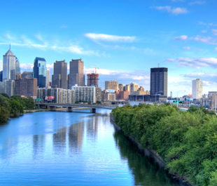 Schuylkill River in Philadelphia, Pennsylvania. | Ed Yakovich