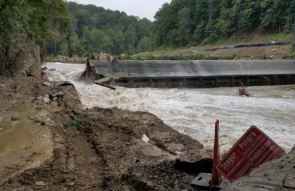 Bloede Dam Removal | Photo by Jim Thompson, Maryland Department of Natural Resources