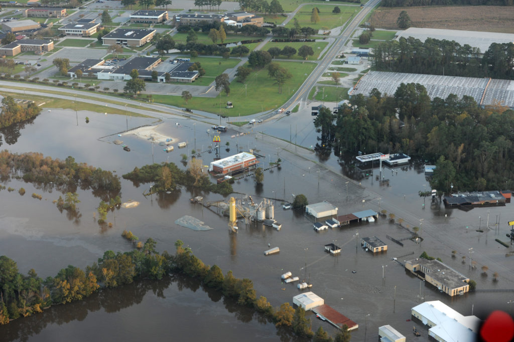 Flooding in Kinston, NC | Photo courtesy of FEMA