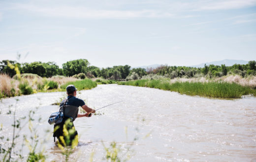 The Uncompahgre River, credit to Mayfly Outdoors