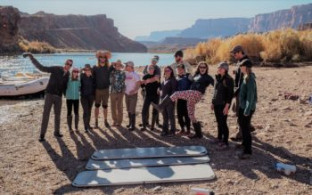 The team at Lee's Ferry | Photo by Caleb Roberts