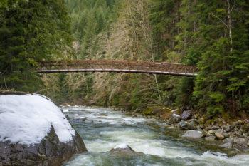 Middle Fork Snoqualmie River Bridge | Photo by Monty VanderBilt