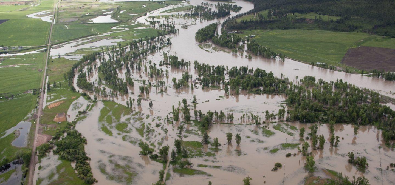 Clark Fork River, MT | Photo by Kestrel Aerial Services