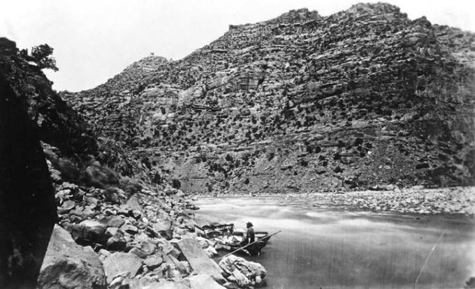 John Wesley Powell's 2nd Expedition, 1871 | Grand Canyon National Park Museum Collection