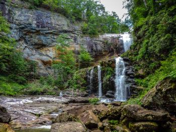 High Falls, Tuckasegee River | Photo by Kasia Halka