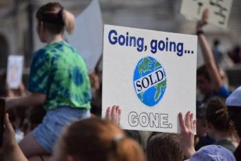 Youth Climate Strike, Washington DC | Photo by Liam McAuliff
