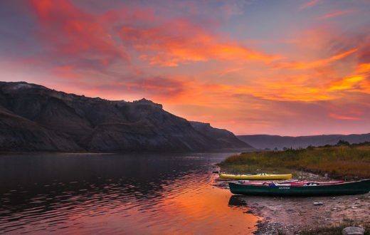 Upper Missouri River | Photo by Roland Taylor, DOI