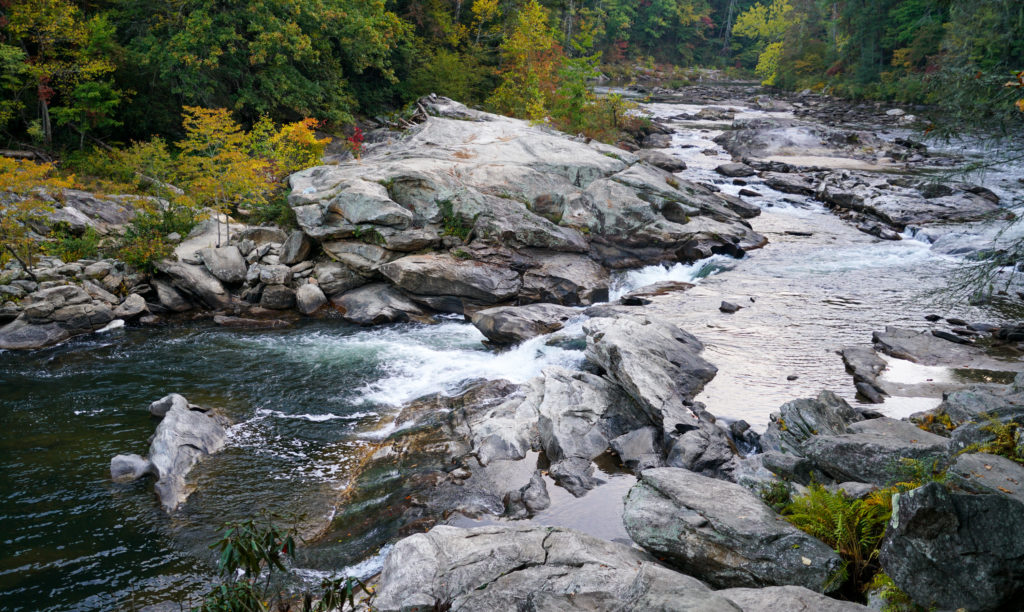 Chattooga River by Sinjin Eberle