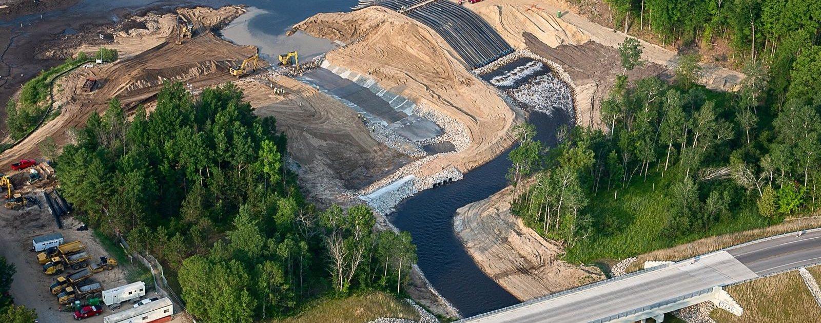 Boardman River Restoration Project |Photo by USACE