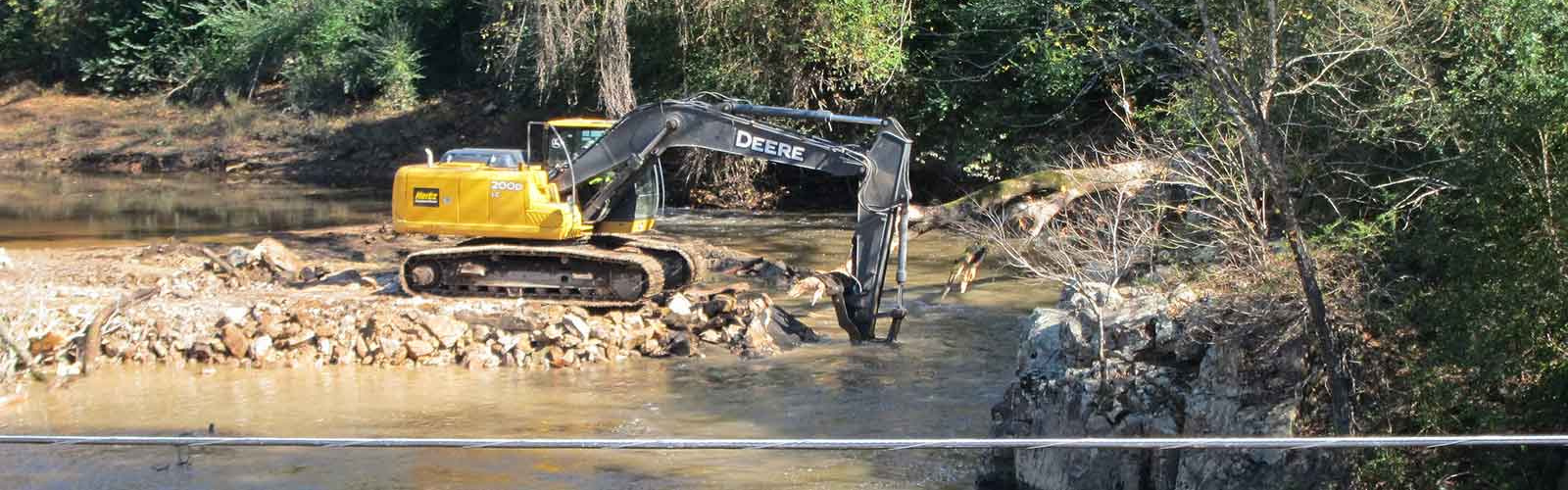 Smitherman's Dam Removal, Little River, NC 11/2013 | Gerrit Jobsis