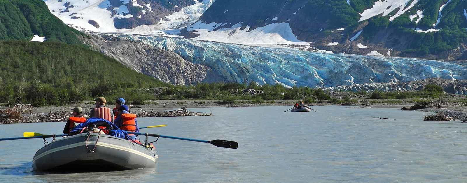 Walker Glacier, Alsek River, AK | Photo by Mike Fiebig