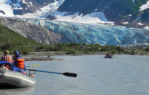 Walker Glacier, Alsek River, AK | Photo by Mike Fiebig
