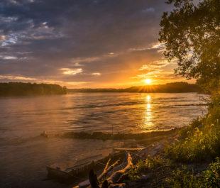 Lower Missouri River | Photo by Heath Cajandig