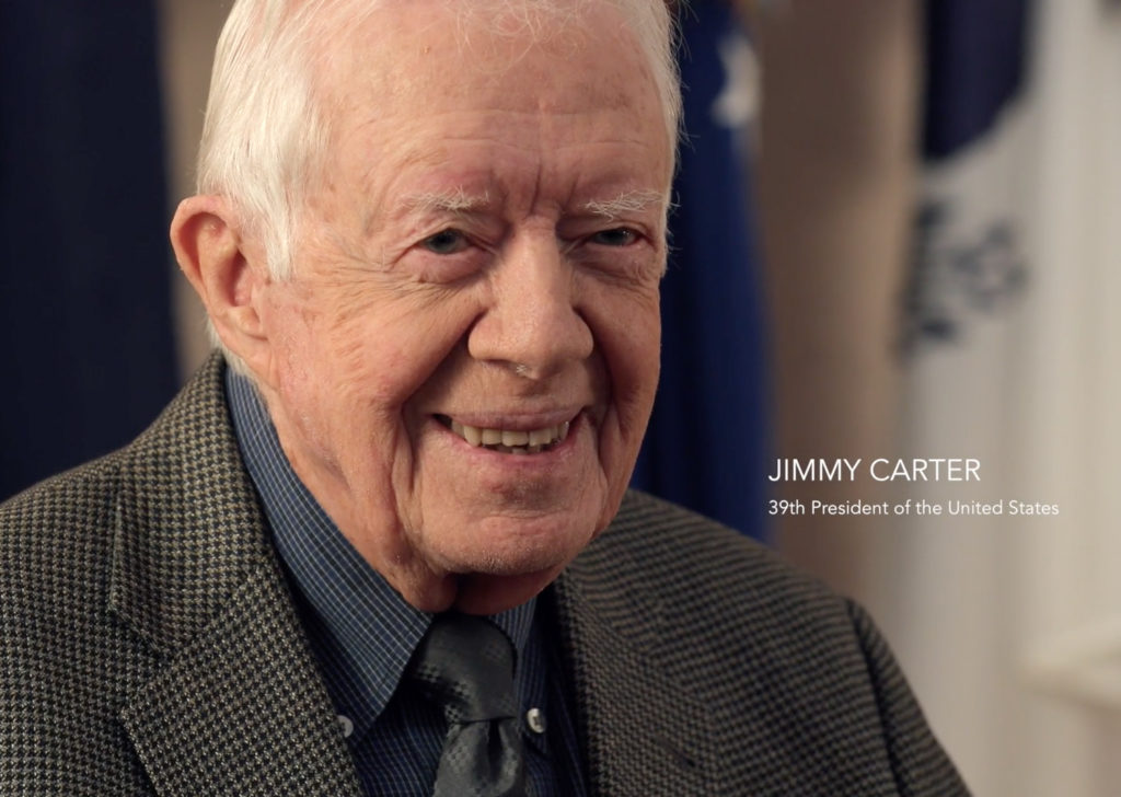 President Jimmy Carter | Photo by Will Stauffer-Norris