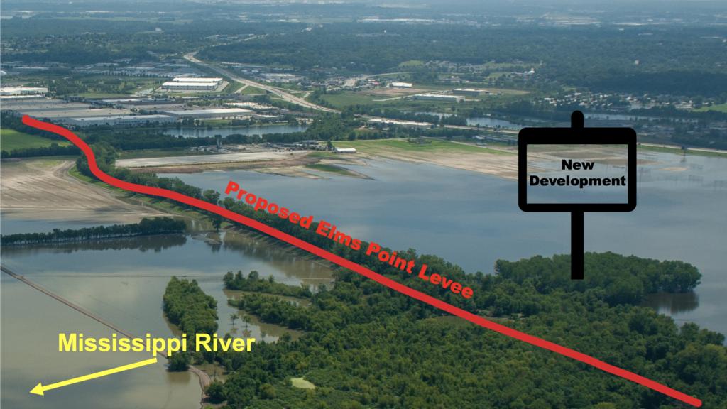 Elms Point Levee Site