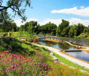 Grant Frontier Park on the South Platte River, Denver, CO | Photo by Brandon Parsons