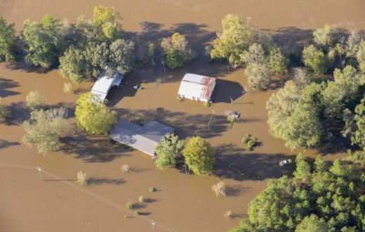 Eastern N.C. after Hurricane Matthew | Photo by U.S. Army National Guard, Capt. Michael Wilber