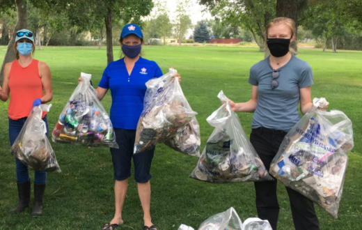 Gallatin River Cleanup | Photo by Brooke Hellstrom