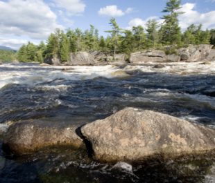 The Penobscot River, ME