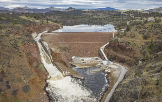 Iron Gate Dam on the Klamath River   Photo by Daniel Nylen