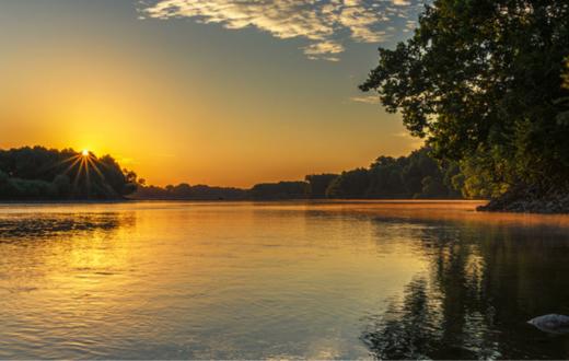 Kansas River, KS | Photo by Jeffery Turner