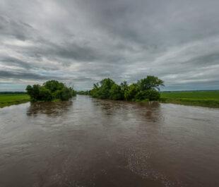 The Skunk River, Iowa | Photo by Carl Wycoff