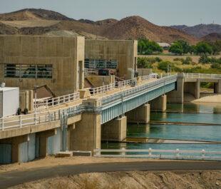 Imperial Dam, AZ | Photo by Sinjin Eberle