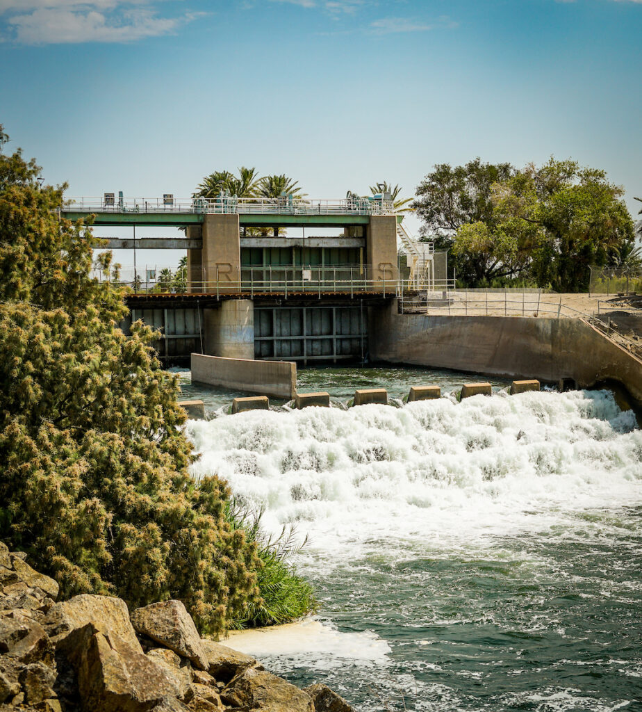 Laguna Dam, AZ | Photo by SinjinEberle