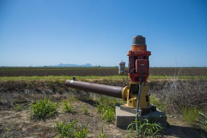 Pump rice field   Photo by Sam Mills