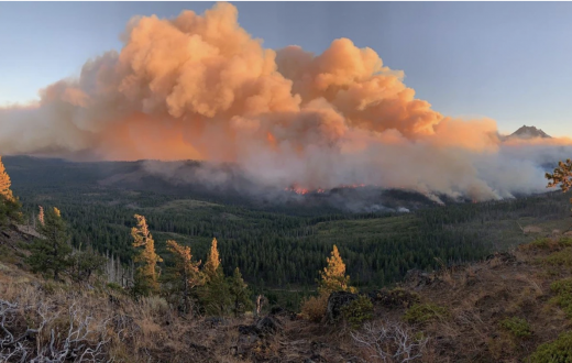 Oregon wildfires on Sept. 8, 2020   Photo by Bureau of Land Management