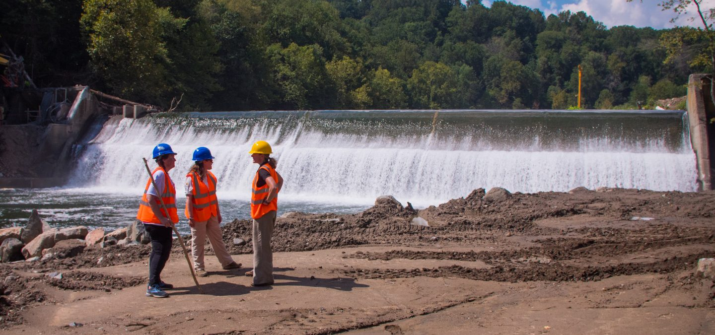 Bloede Dam Removal | Photo by Katie Schuler